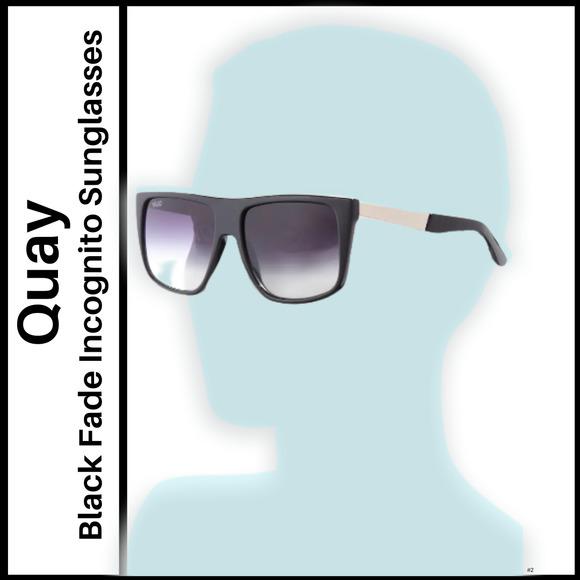 Quay Incognito Black Fade Sunglasses
